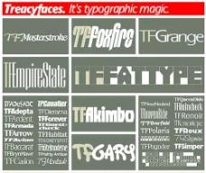 英文字体集合