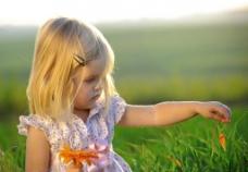 小女孩图片