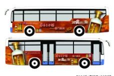 茅台王子酒经典车体广告图片