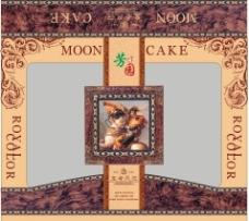 月饼 包装 欧式图片