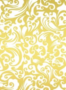 金色欧式底纹图片