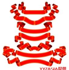 中国飘带(抠图)图片