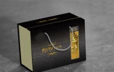 黑色紫砂礼盒(展开图)图片