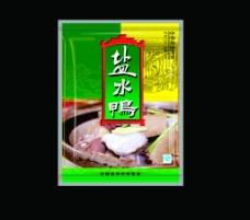 盐水鸭包装图片