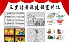 廉政建设宣传栏图片