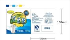 豆浆 豆奶 包装设计图片