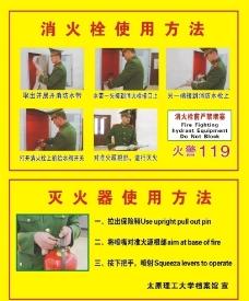 消防栓使用方法图片