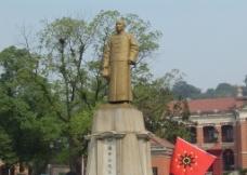孙中山铜像图片