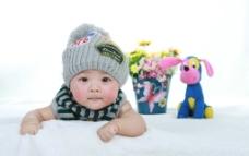 儿童摄影 百日照图片