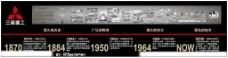 三菱重工历史墙图片