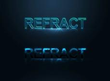 PEFRACT字体