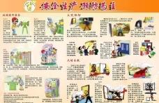 安全生产展板图片