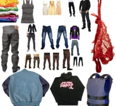 衣服 牛仔裤图片