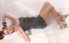 时尚夏装 欧美女模特图片