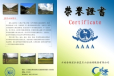 荣誉证书图片