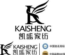凯盛家纺 logo图片