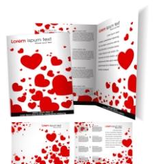爱心企业宣传册vi设计图片