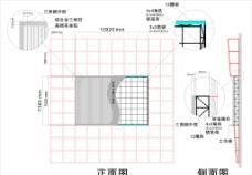三面翻 钢架结构图图片