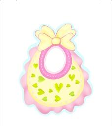婴儿物品 婴儿围裙图片