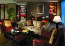 五星级酒店客厅图片