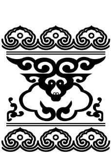 蒙古图案图片