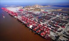 上海洋山港区图片