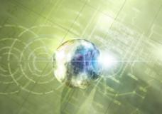 动感地球科技背景图片