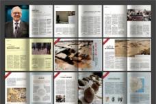 企业公司杂志图片合层