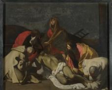 在死去的基督徒身边图片