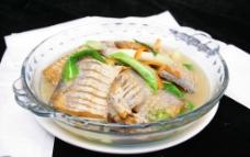 半煎煮咸带鱼图片