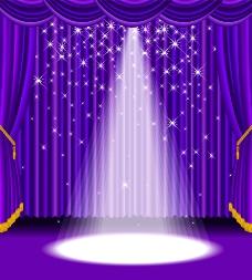 舞台帷幕图片