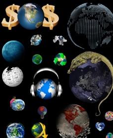 科技网络地球