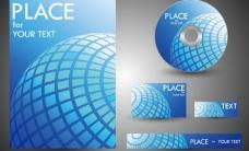 蓝色地球企业vi设计图片